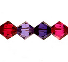 Swarovski Bead Mixes bicone 6mm Blackberry jam