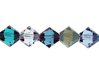 Swarovski Bead Mixes bicone 6mm Blue lagoon