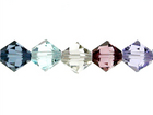 Swarovski Bead Mixes bicone 6mm Cityscape
