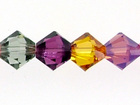 Swarovski Bead Mixes bicone 6mm Fruitful harvest