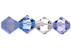 Swarovski Bead Mixes bicone 6mm Glacier