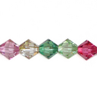 Swarovski Bead Mixes bicone 6mm Luminous Spring