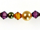 Swarovski Bead Mixes bicone & round 4, 5 and 6mm Fruitful harvest pearl