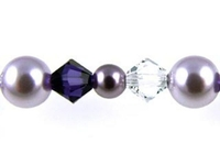 Swarovski Bead Mixes bicone & round 4, 5 and 6mm Purple spring