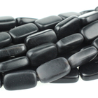 Black Onyx 10 x 14mm rectangle black