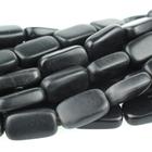 Black Onyx 10 x 14mm rectangle black