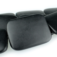 Image Black Onyx 30 x 40mm rectangle black