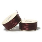 size B maroon Nymo Thread