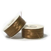 size B gold Nymo Thread