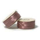 size B rosy mauve Nymo Thread
