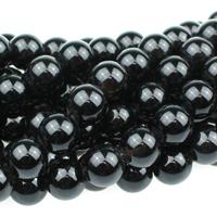 Image Large hole Black Onyx 8mm round black