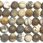 Outback Wood Jasper 10mm round mixed browns