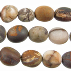 Outback Wood Jasper 12 x 16mm nugget mixed browns