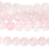 Image Rose Quartz 6mm round pink