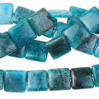 Image Blue Apatite 12mm square bright blue