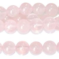 Image Rose Quartz 8mm round pink