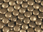 Pyrite 12mm coin rich gold