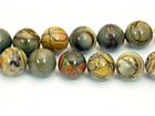 Red Creek Jasper 12mm round mixed colors