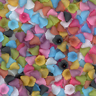 12mm trumpet flower assorted colors Resin Beads