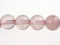 Rose Quartz 6mm round pink
