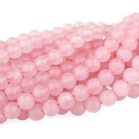 Rose Quartz 6mm round pink