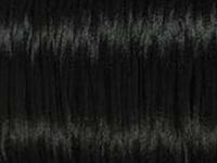Image 2mm round black Rat Tail Satin Cord