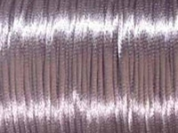 Image 2mm round lavendar Rat Tail Satin Cord