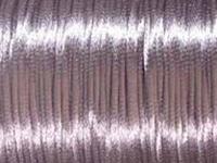 Image 2mm round lavendar Rat Tail Satin Cord
