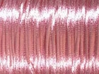 2mm round light pink Rat Tail Satin Cord