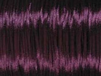 2mm round plum Rat Tail Satin Cord