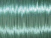 2mm round turquoise Rat Tail Satin Cord