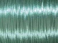 Image 2mm round turquoise Rat Tail Satin Cord