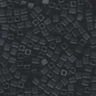 Miyuki cube 4mm black opaque matte