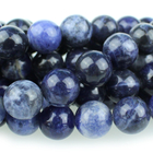 Sodalite 10mm round blue