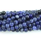 Sodalite 4mm round blue