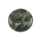 Seraphinite 18mm coin mossy green