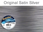 .024 (thick), 49 strand original satin silver Soft Flex Wire