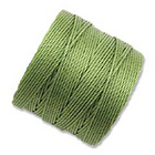 extra-heavy #18 avocado Superlon bead cord
