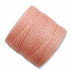 extra-heavy #18 coral pink Superlon bead cord