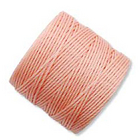 extra-heavy #18 light  peach Superlon bead cord