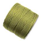 extra-heavy #18 chartreuse Superlon bead cord