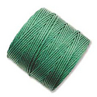 extra-heavy #18 green Superlon bead cord
