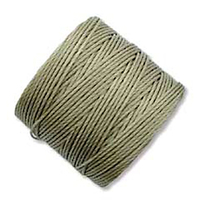 extra-heavy #18 khaki Superlon bead cord