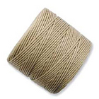 extra-heavy #18 light brown Superlon bead cord