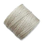 extra-heavy #18 light grey Superlon bead cord
