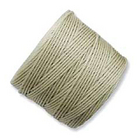extra-heavy #18 light khaki Superlon bead cord