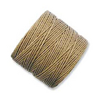 extra-heavy #18 medium brown Superlon bead cord