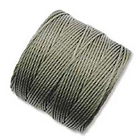 extra-heavy #18 olive Superlon bead cord
