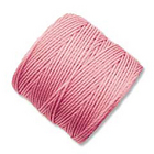 extra-heavy #18 pink Superlon bead cord