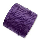 extra-heavy #18 purple Superlon bead cord